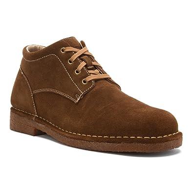 Men's Comfortable Therapeutic Boot by Drew - Bryan - 9 - Medium (D) -
