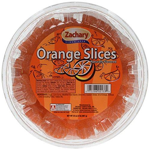 Zachary Artificial Orange Flavored Slices 32oz. -