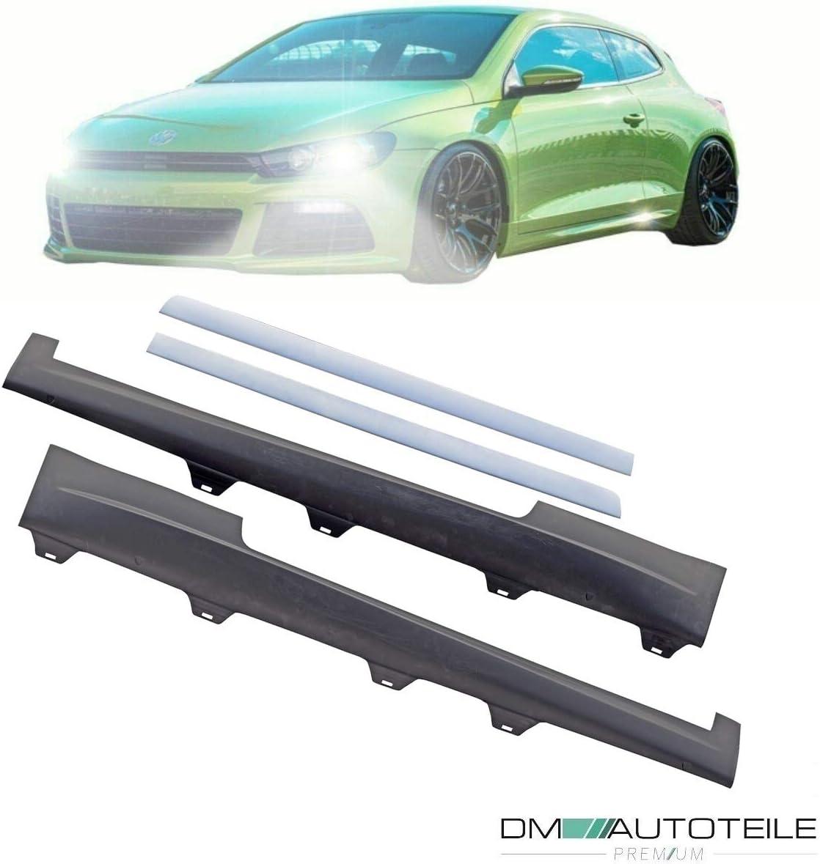 DM Autoteile Sport Seitenschweller rechts//links grundiert passt f/ür Scirocco III 137 Bj 08-14 auch R