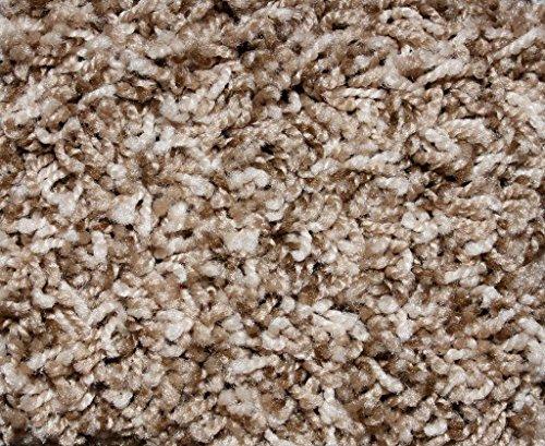 Cheap 12'x16′ Indoor Frieze Shag Area Rug – Bramble II- plush textured carpet with Premium BOUND Polyester Edges.