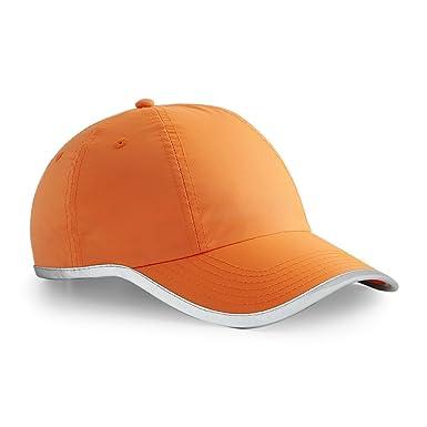 Beechfield - Gorra de béisbol - para Hombre Naranja Fluorscent ...