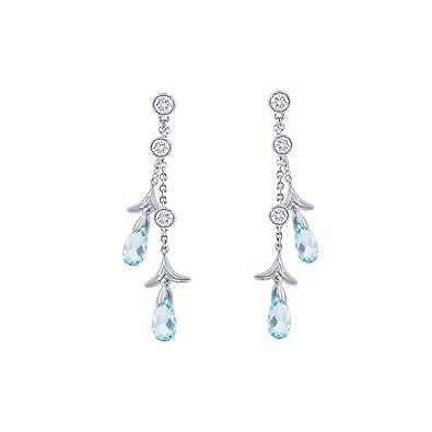 Amazon Com Nicole Miller Briolette Double Strand Drop Earrings