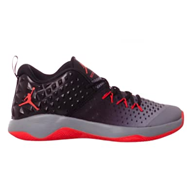 ee2023aeb512 Nike Men s Jordan Extra Fly Cool Grey Max Orange-Black Basketball Shoes-6  UK 39 Euro (854551-018)  Buy Online at Low Prices in India - Amazon.in
