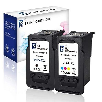 BJ PG-540XL CL-541XL - Cartuchos de Tinta para Canon Pixma ...