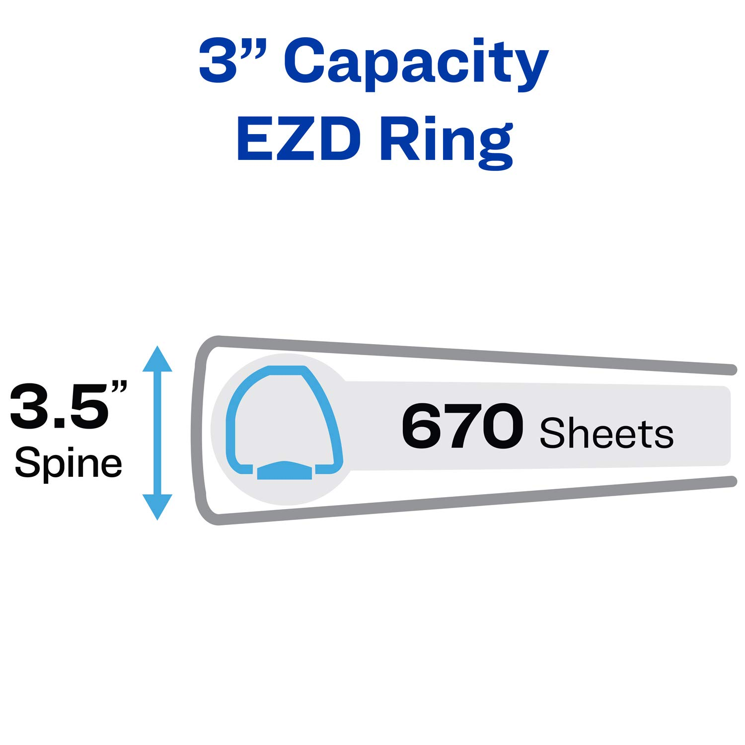 Avery Durable View Binders with EZD Rings by Avery (Image #4)