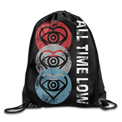 Amazon.com: Drawstring Backpack All Time Low Future Hearts ...