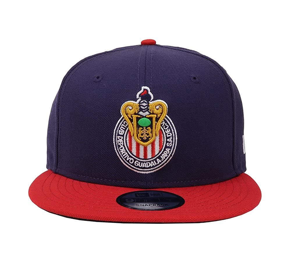 Amazon.com: New Era 9Fifty Hat Chivas De Guadalajara Mexican Soccer League Blue/Red Cap: Clothing