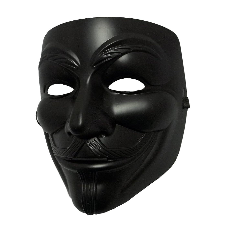 Amazon.com: MGPS Black Guy Fawkes Anonymous V for Vendetta ...