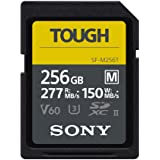 Sony TOUGH-M series SDXC UHS-II Card 256GB, V60, CL10, U3, Max R277MB/S, W150MB/S (SF-M256T/T1)
