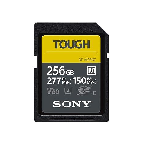 Sony - Tarjeta de Memoria Digital (SF-M, 256 GB, UHS-II, U3 ...