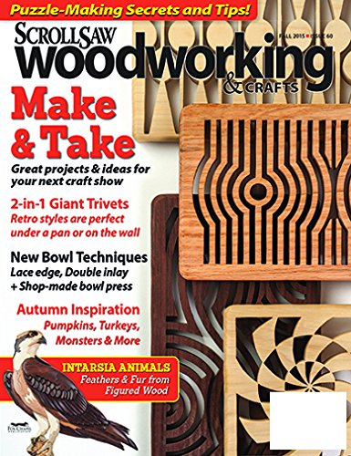 Scroll Saw Woodworking & Crafts (Scroll Saw Magazine)