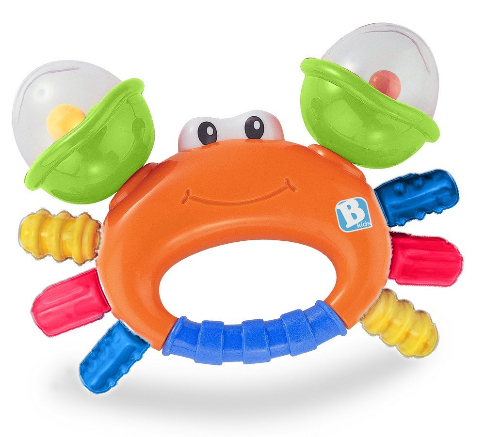 Bkids Rattle and Teeth Sand Crab BabyCentre 4889