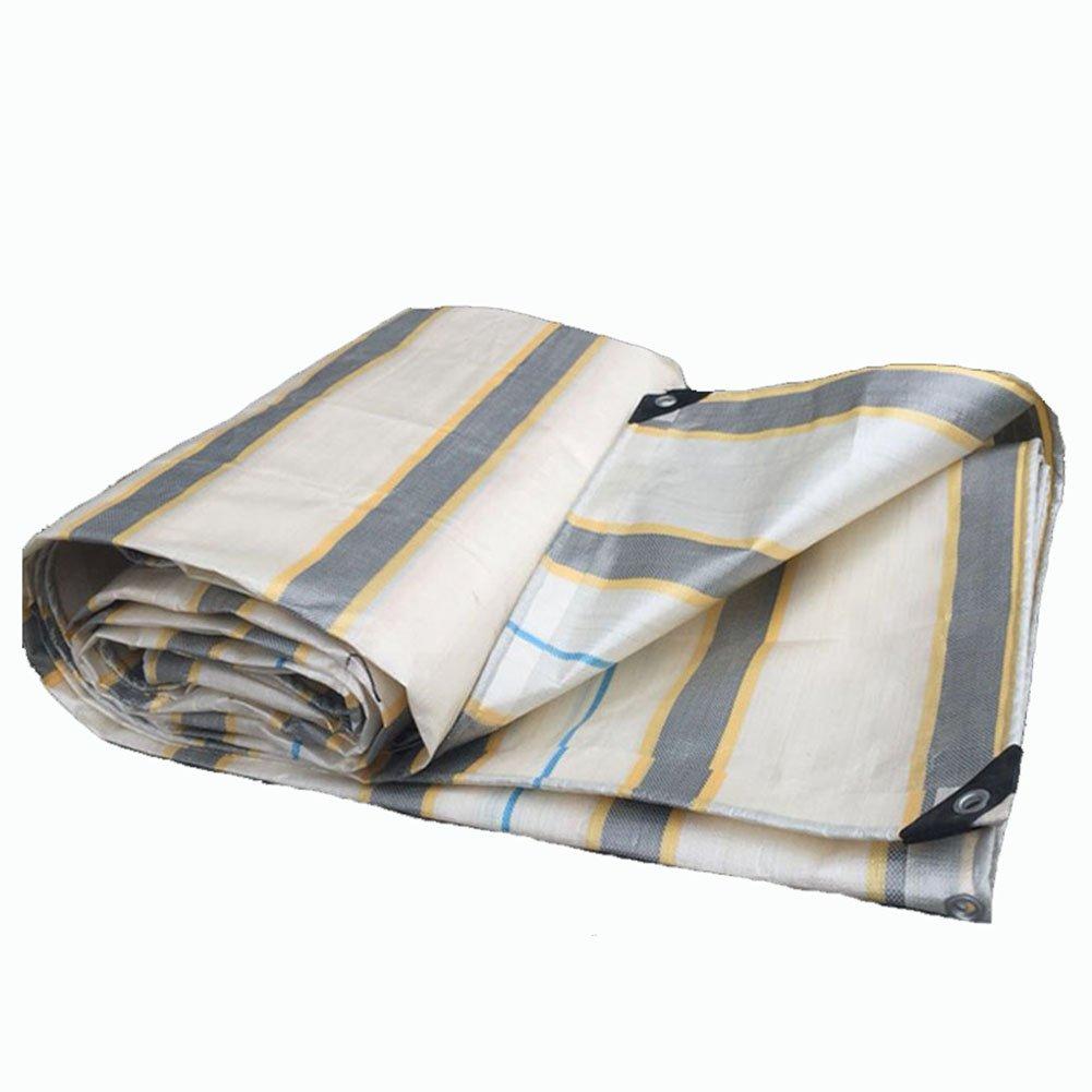 JIANFEI オーニング 防水耐寒性日焼け止め防風防塵耐久性のあるポリエチレンカスタマイズ可能 (色 : 白, サイズ さいず : 4.7x7.7m) B07FYLT744 4.7x7.7m|白 白 4.7x7.7m