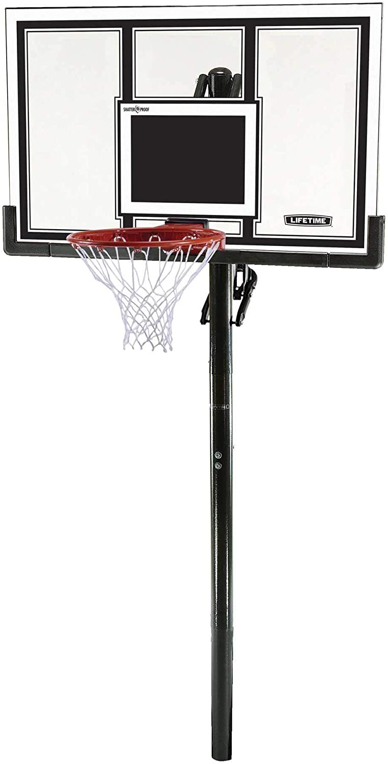 #3 LIFETIME 71524 XL Height Adjustable Basketball System
