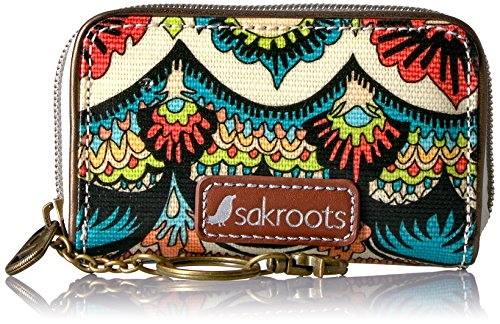 sakroots-womens-artist-circle-zip-id-case-natural-one-world