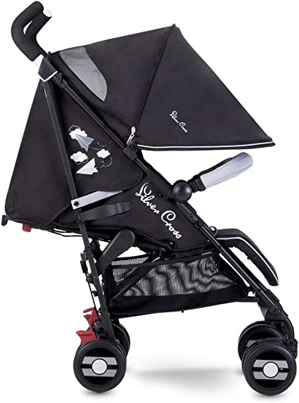 Silver Cross Pop Star Stroller, Compact and Lightweight Pushchair – Paper Planes