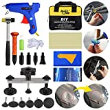 FLY5D Paintless Dent Puller Tools Kit.Upgraded Adjustable Bridge Puller 30Pcs Dent Repair Kit Sets for Auto Body Motorcycle Refrigerator Washing Machine