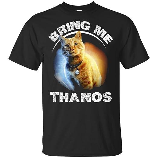 9d0901970 Amazon.com: Goose The cat Bring me Thanos T-Shirt for Men: Clothing