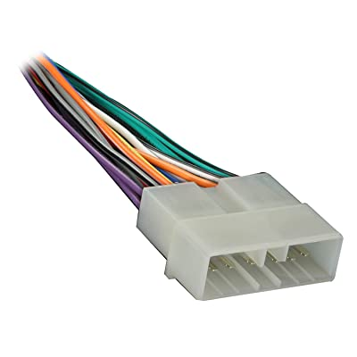 Metra 70-1002 Radio Wiring Harness for Jeep/Eagle 1988-96 Power/4 Speaker: Car Electronics