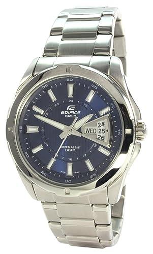 505ce7182fc Casio Reloj de Pulsera EF-129D-2AVEF  Amazon.es  Relojes