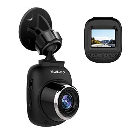 Amazon Com Dash Cam Milaloko Mini Car Camera Full Hd 1080p And 168