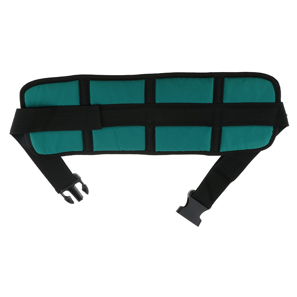 MagiDeal Comfortable Wheelchair Safety Harness Strap Anti-Slip Seat Belt for Elders with Quick-Release Buckle