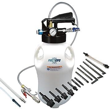 Ajuste Herramientas 10L dos manera neumático ATF aceite y líquido Extractor con 14 pcs ATF adaptadores sistema de recarga de/Kit: Amazon.es: Coche y moto