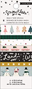 Crate Paper 350987 4 to 6 Yards Each Washi Tape, Multi
