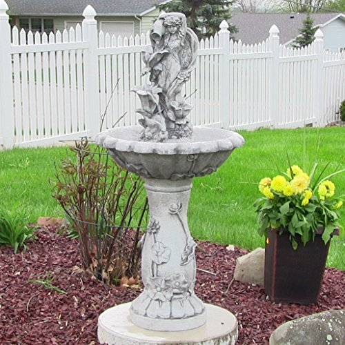 garden fairy water fountain - 6
