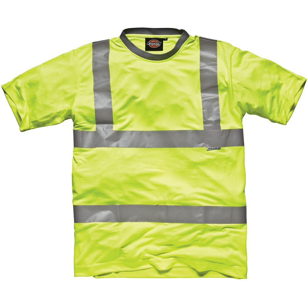 Dickies Hochsichtbares T-Shirt gelb YL L SA22080