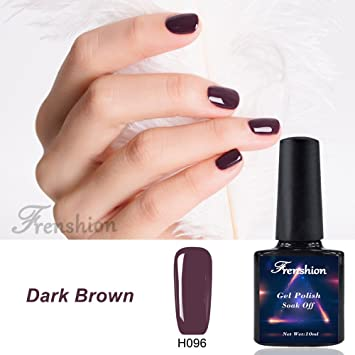 Frenshion 10ML Gel Nail Polish Semi Permanent Soak off UV LED Kit de manicura de esmalte
