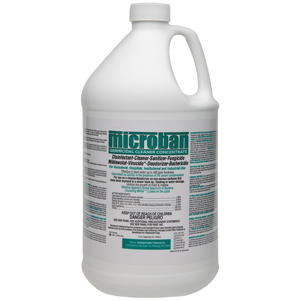 Amazon Com Microban Disinfectant Spray Plus Health