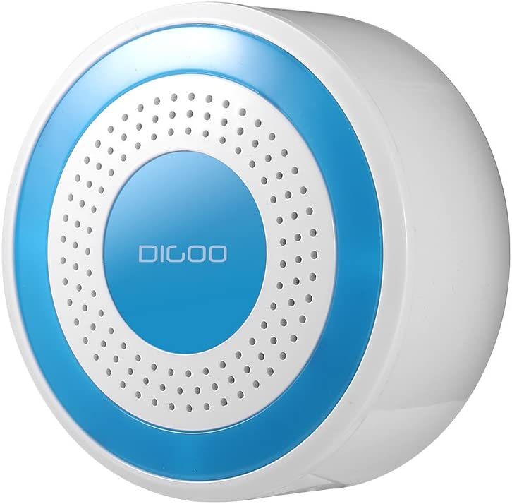 drahtlos Heimsicherheitssystem Multifunktionssystem Digoo DG-ROSA 433MHz Funk-Alarmanlage Host- und Sirene