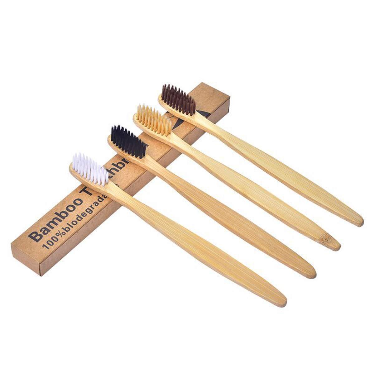 Healifty cepillo de dientes de madera cepillo de dientes de ...