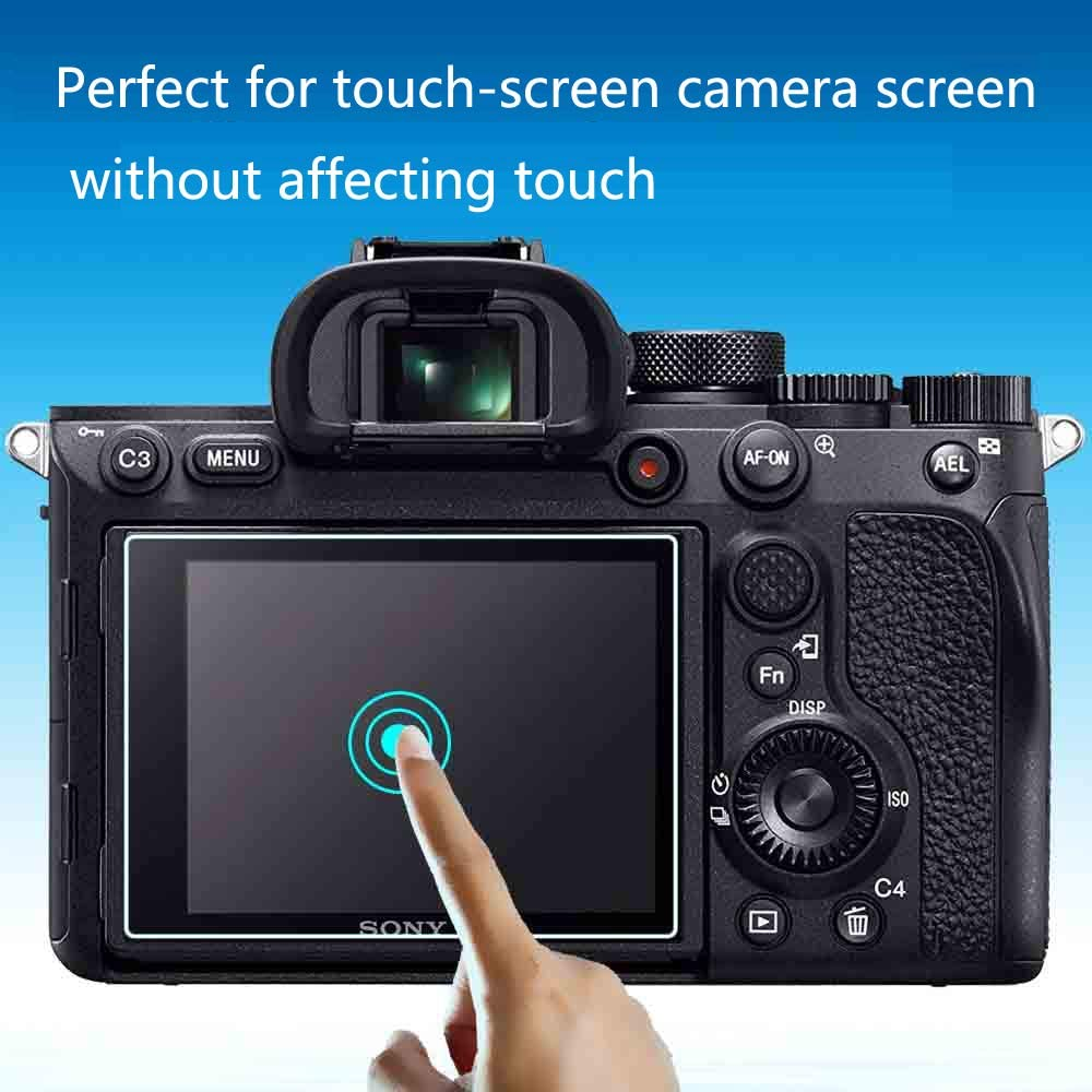 Rebel SL2 Glass Screen Protector Compatible for Canon EOS Rebel SL2// Canon EOS M50 M100 200D 2 Pack WH1916 Tempered Glass Cover Bubble-Free Anti-Scratch Anti-Finger for Canon sl2