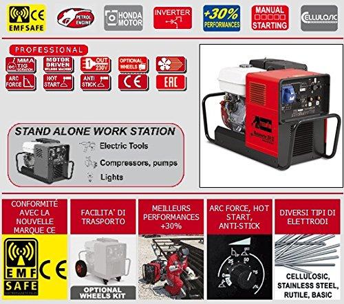 Telwin - del relé soldadura gasolina Mobile Inverter - motoinverter 204 CE Honda: Amazon.es: Bricolaje y herramientas