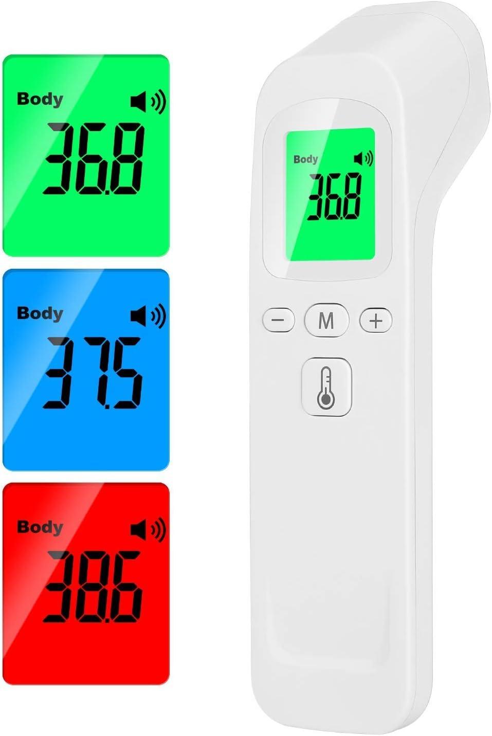 Cosmo led, Termometro Infrarrojos, Termometro Digital, Termometro Sin Contacto, Termometro Digital Frente, Termómetro infrarrojo, GARANTIA 2 AÑOS, Rapido y Preciso, Medicion Instantanea sin contacto