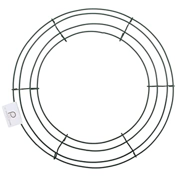 amazon wire wreath frame 18 home kitchen English Diagram image unavailable
