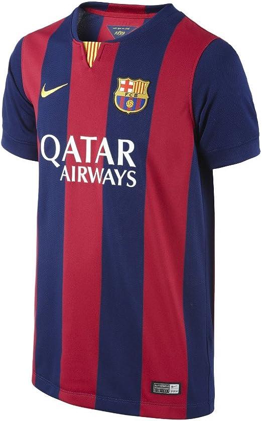 Amazon.com : Barcelona Home Boys Jersey