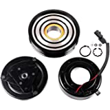 SCITOO AC Compressor Clutches Repair Set CO 10886C Auto Compressor Clutch Assembly Kit for Sentra Nissan