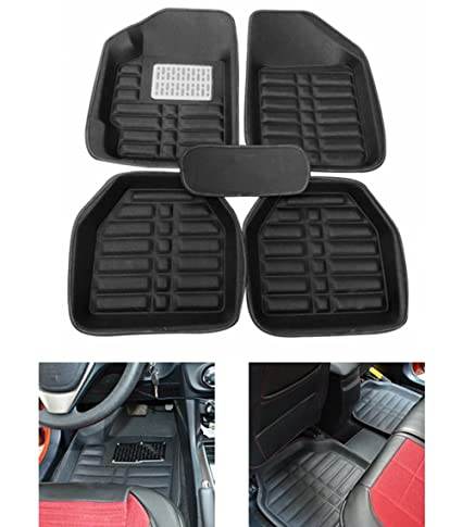 Amazon Com Fly5d Universal Fit Car Floor Mats Front Rear Carpet