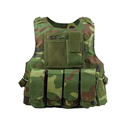 Chaleco Militar Táctico Airsoft Combate Chaleco SWAT Equipo ...