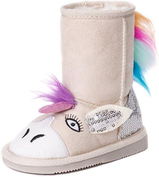 MUK LUKS Girl's Luna Unicorn Boots