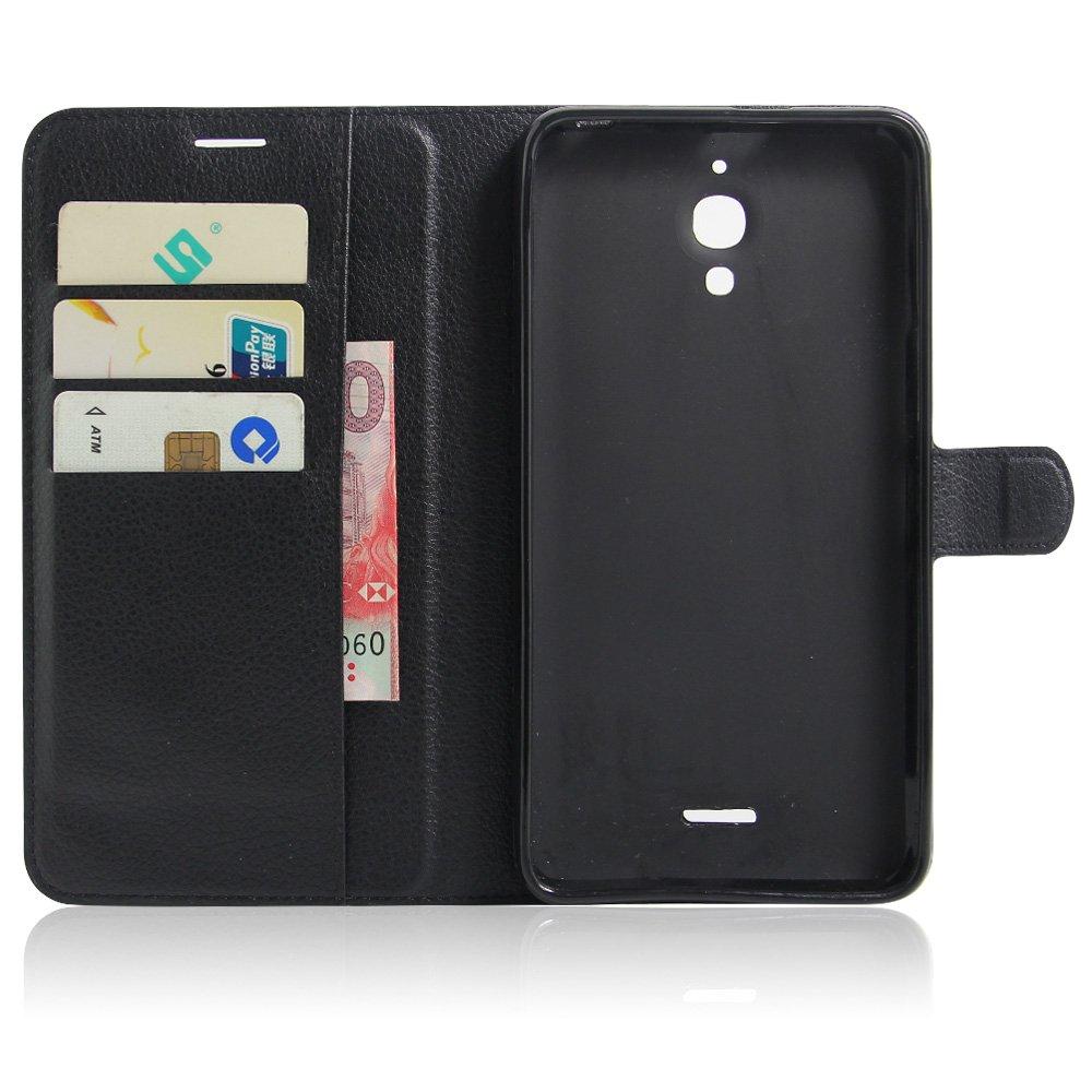 SMTR Funda para Pixi 4 6 inch(3G), Carcasa de cuero Flip Case,