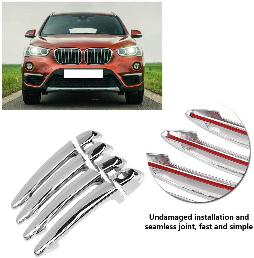 EBTOOLS 8 ST/ÜCKE Auto ABS Chrom Galvanik T/ürgriff Abdeckung Trim Auto Zubeh/ör