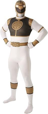 Disfraz para Adulto de Power Ranger Blanco RubieS, versión ...