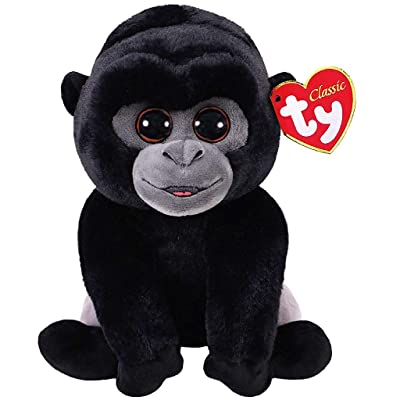 Ty Beanie Babies 96326 Bo the Silverback Gorilla Classic: Toys & Games