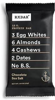 product image for RXBAR Whole Food Protein Bar, Chocolate Sea Salt, 1.83 Ounce (4 Bars)