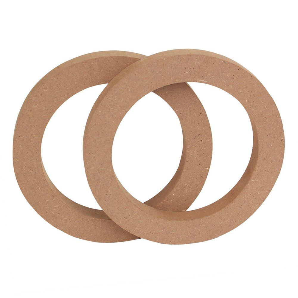 RDEXP 6.5' Wooden MDF Speaker Spacers Ring For Car RDEXPAM