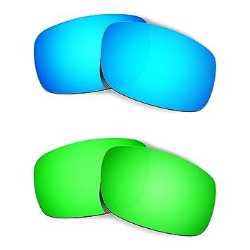 HKUCO Plus Mens Replacement Lenses For Oakley Crankshaft - 3 pair Combo Pack tiLJNwXsK